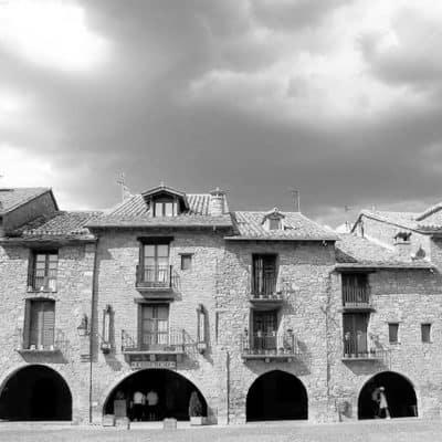 Plaza Mayor de Ainsa