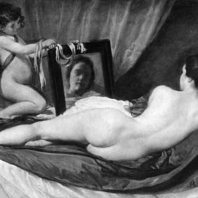 Venus del espejo - Diego Velázquez