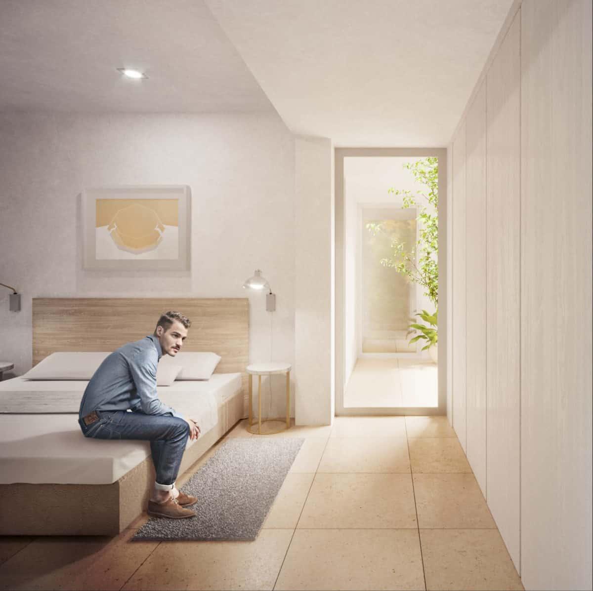 OCNOS_Vista interior dormitorio