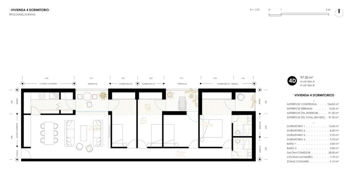 OCNOS_Planta tipologia 4D