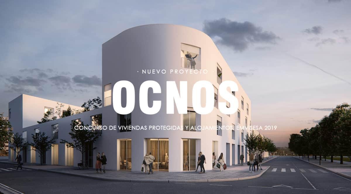Jimenez & Linares Proyecto Ocnos vivienda social en Sevilla para el concurso EMVISESA