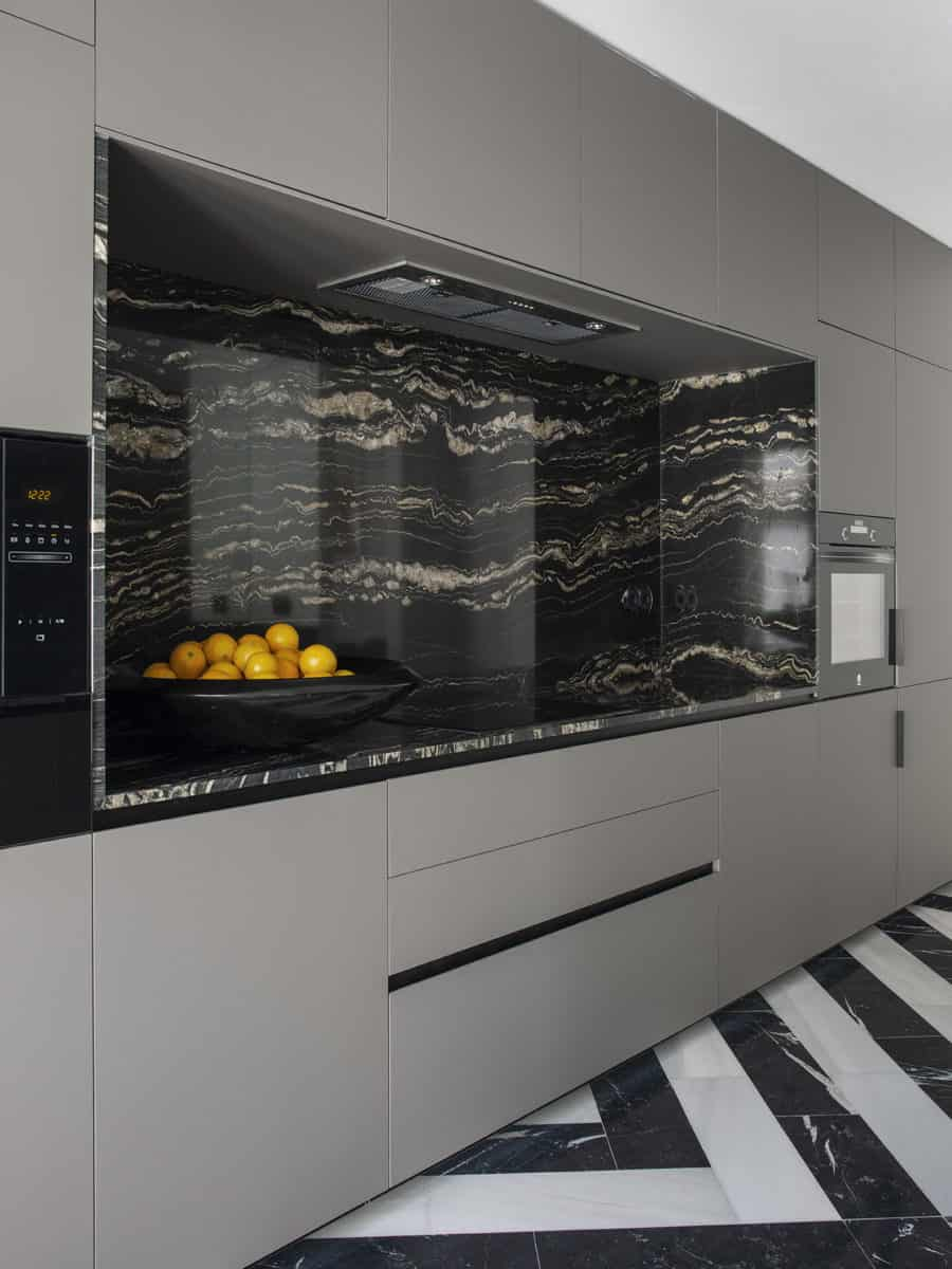 JIMENEZ&LINARES_VIVIENDA AQ_Imagen de la encimera de la cocina