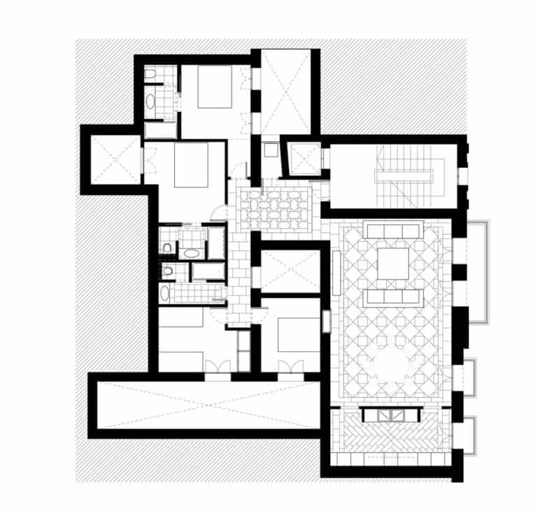 JIMENEZ&LINARES_VIVIENDA AQ_Distribución en planta de la vivienda