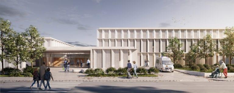 JIMENEZ&LINARES_PLASENCIA_CENTRO SOCIOSANITARIO_Imagen de fachada principal
