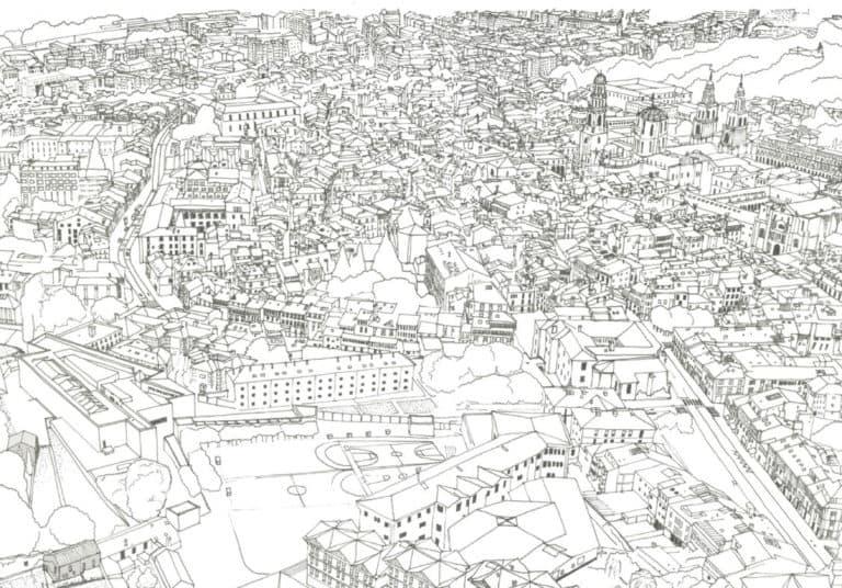 Ilustración Congreso Arquitectura y Comunidad
